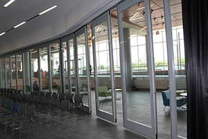 Movable Glass Walls Crystal